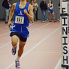 Leominster's John Gove runs the 4 x 440 during the Mid-Wach league championships at Fitchburg High on Saturday morning. SENTINEL & ENTERPRISE / Ashley Green