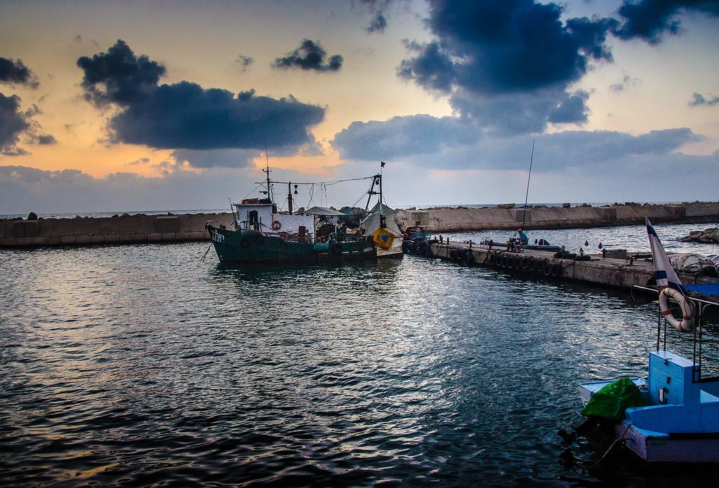 Fishing in Jaffa