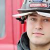 Veteran and Fitchburg Firefighter John Girouard. SENTINEL & ENTERPRISE/JOHN LOVE