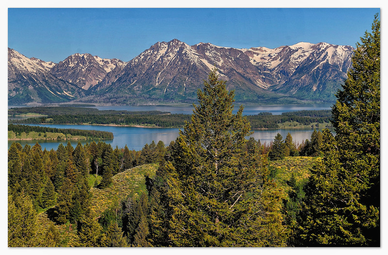 Teton Range from Signal Mountain Overlook