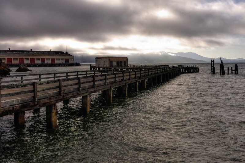 Pier on San Francisco Bay