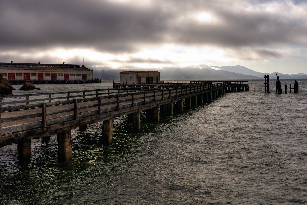 Pier on San Francisco Bay