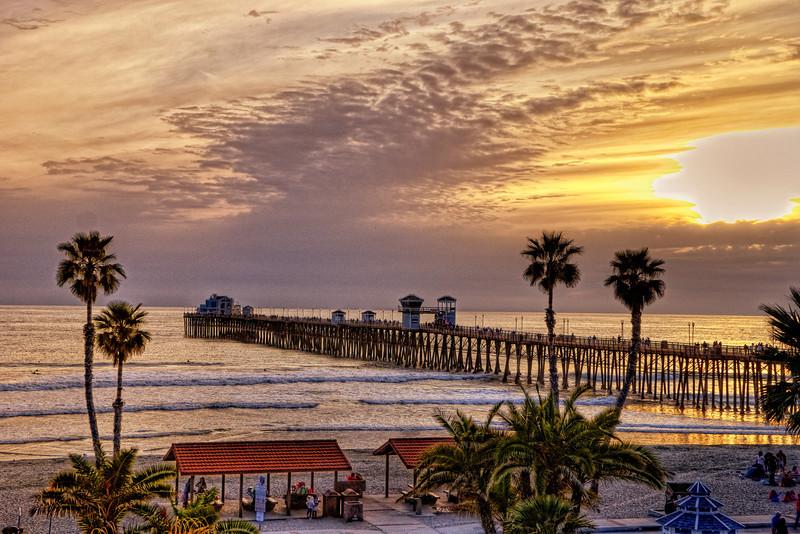 Sunset in Oceanside