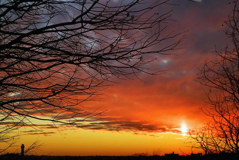 Sunset at DFW