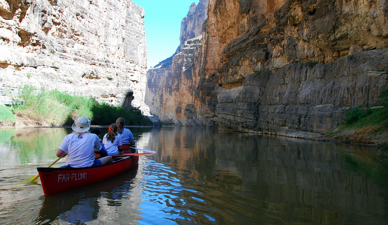 Canoeing in Santa Elena Canyon2
