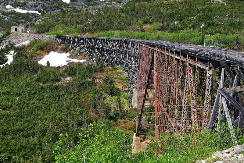 White Pass Scenic Railroad, Skagway