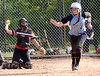 Bob Raines--Montgomery Media<br /> North Penn's Hanna Uhler gets a walk during the May 13, 2015 game at Hatboro Horsham.