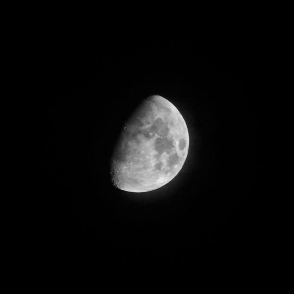 Moon over Marfa
