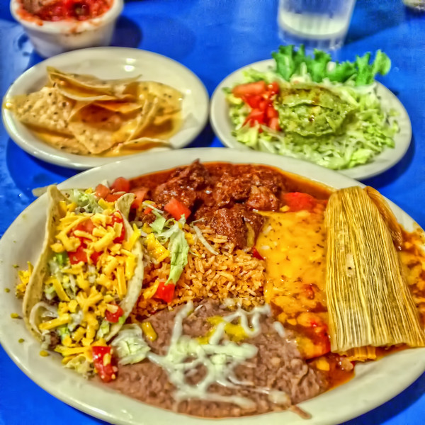 The Deluxe Dinner from Casa Rio, San Antonio Riverwalk
