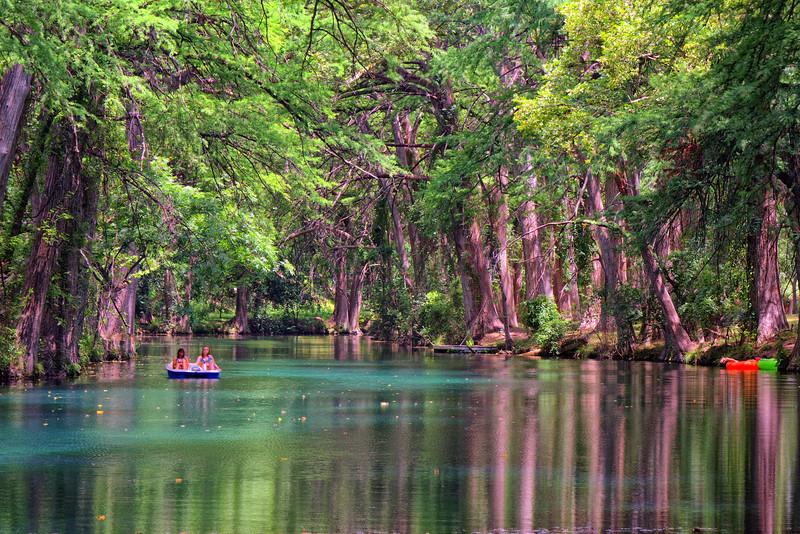 Frio River near Leakey, TX