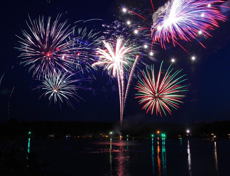 July 4th at Hideaway lake