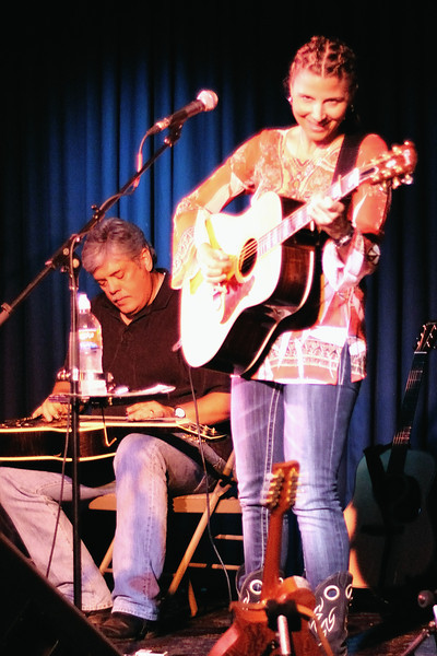 Lloyd Maines and Terri Hendrix