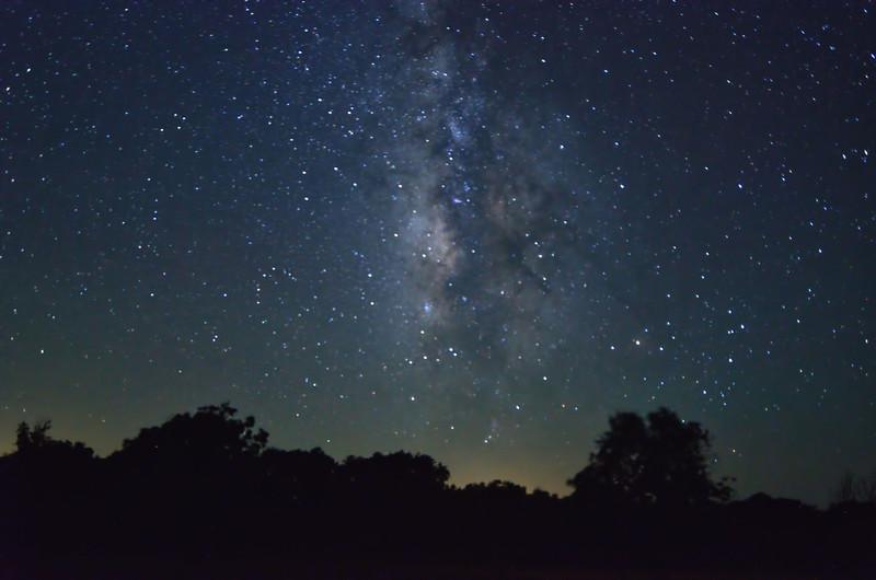 Milky Way over Utopia