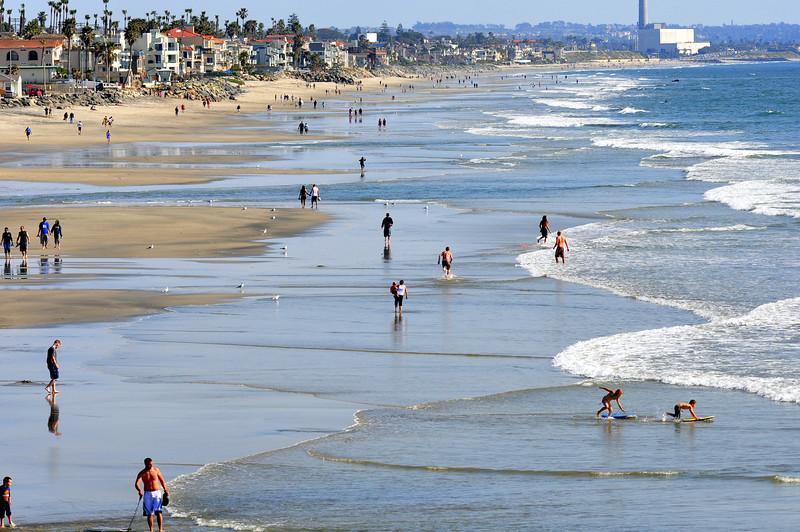 Oceanside, CA beach