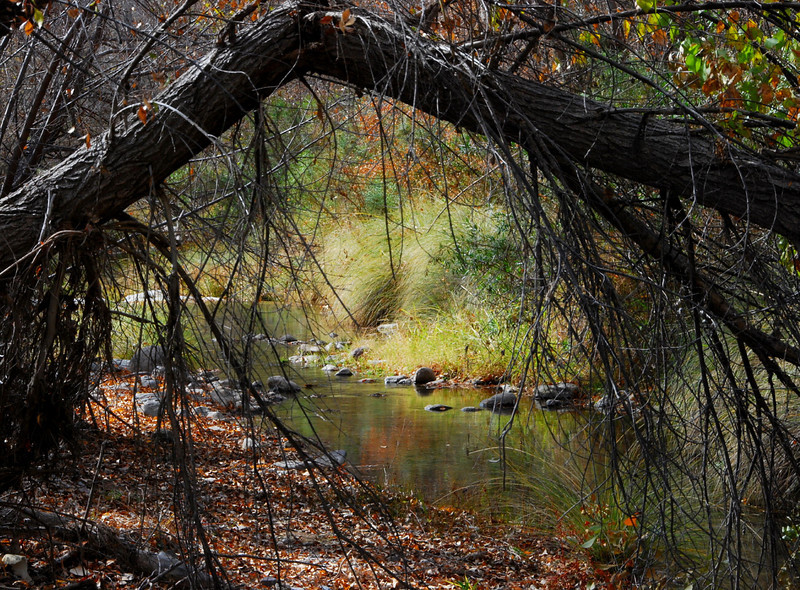 Creek in Shafter Ghost Town2