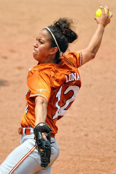 First team All Big 12 pitcher Blaire Luna