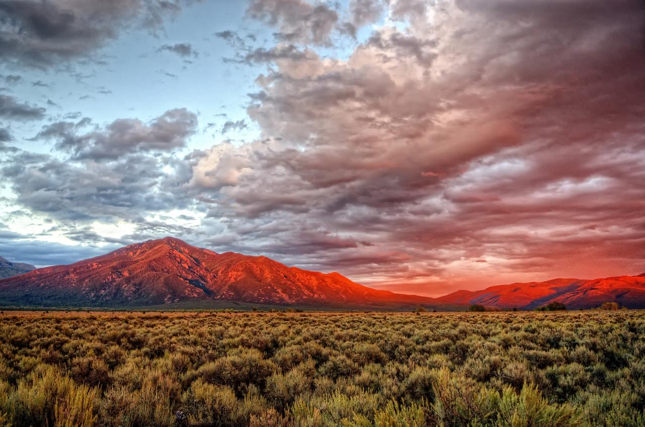 Sangre de Cristos, Taos, New Mexico
