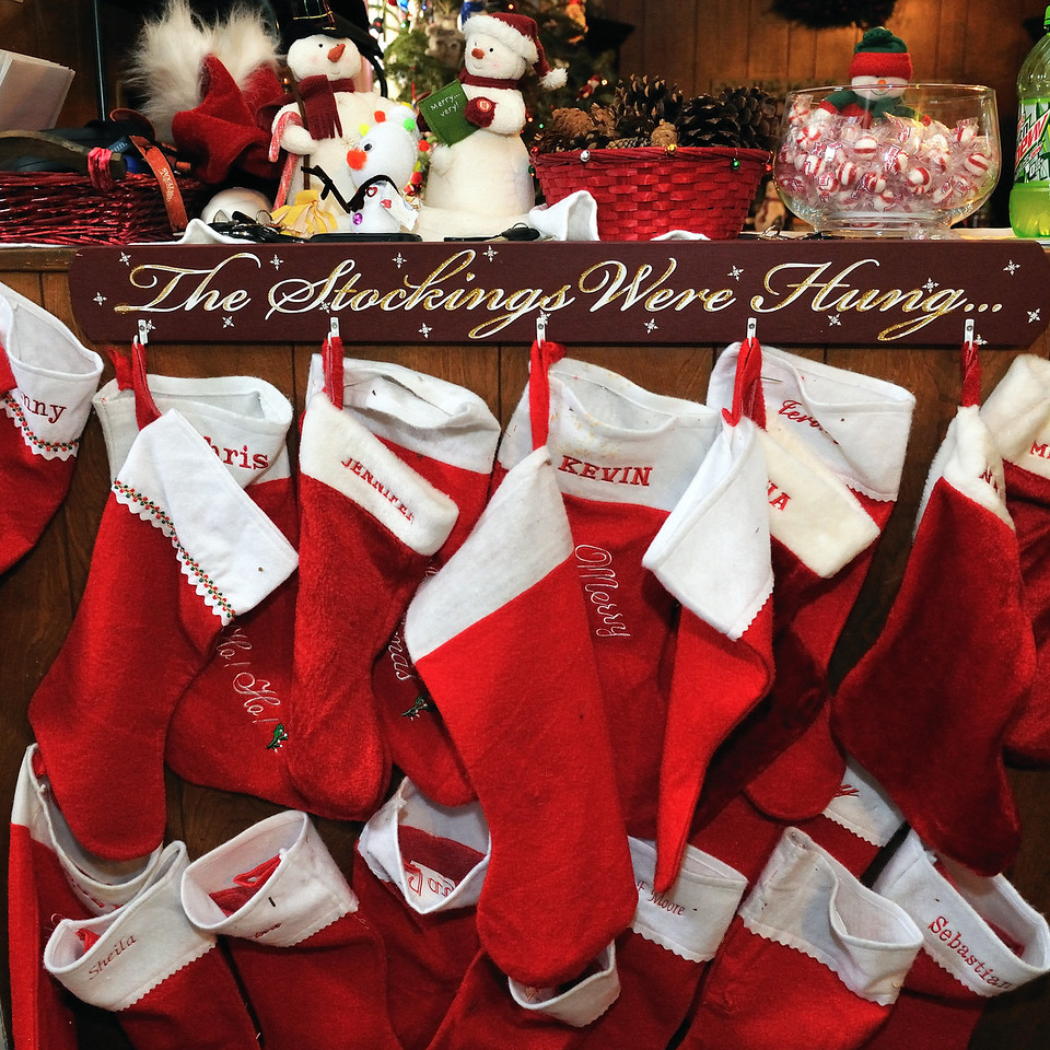 There's a stocking for pretty much everbody we know