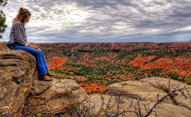 Palo Duro Canyon from the Elkins Ranch
