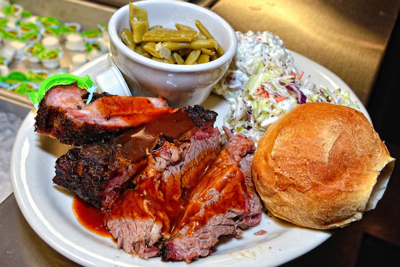 Texas pit smoked barbecue