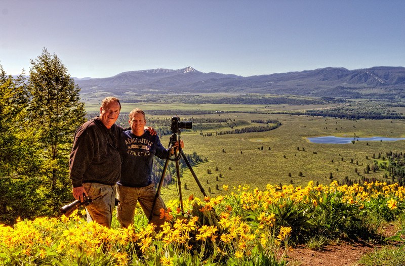 Jeff Clow and Wil Bloodworth, Dirt Cheap Photo Tours