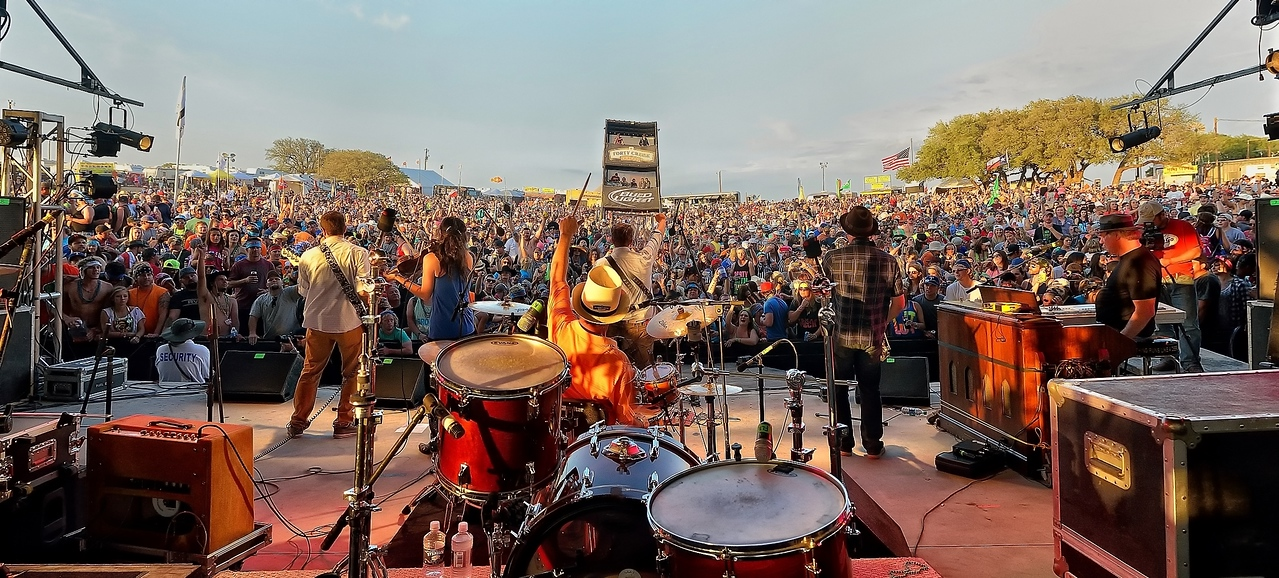 Josh Weathers Band slays the crowd at LJT 25th Annual Texas Music Festival