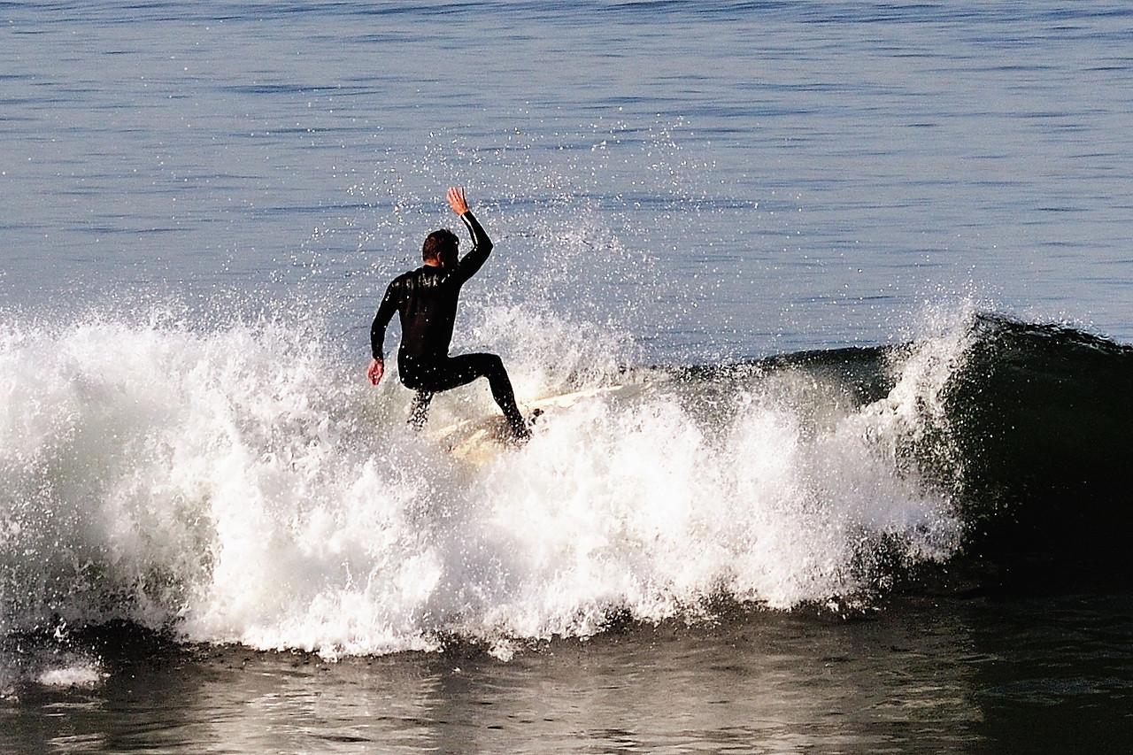 Oceanside surfer