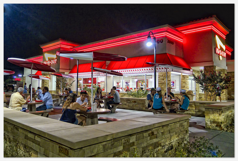 Texas's first In N Out Burger