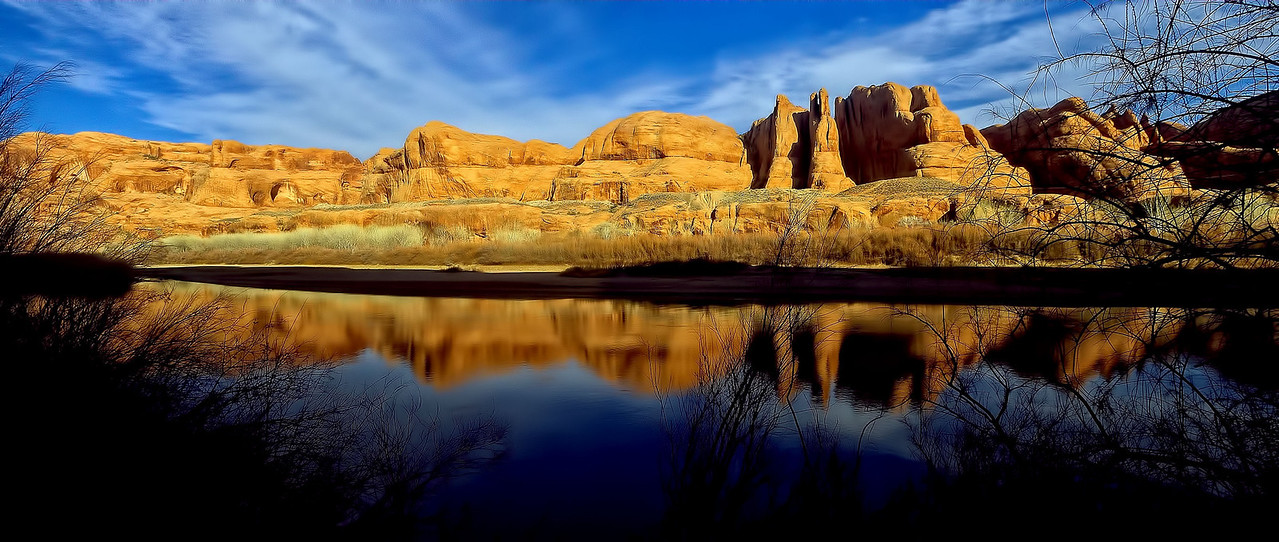 Colorado River along Potash Road, Moab