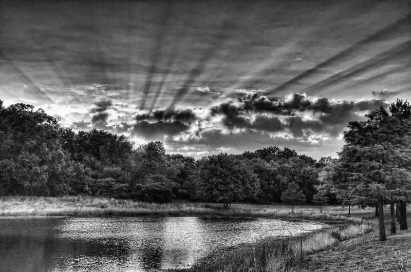 Sunset at Duck Creek Greenbelt