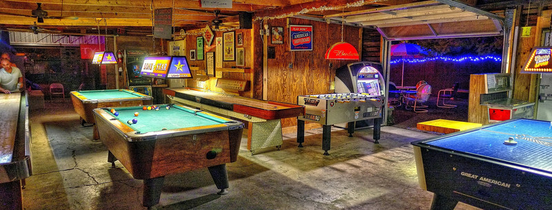 The game room that time forgot