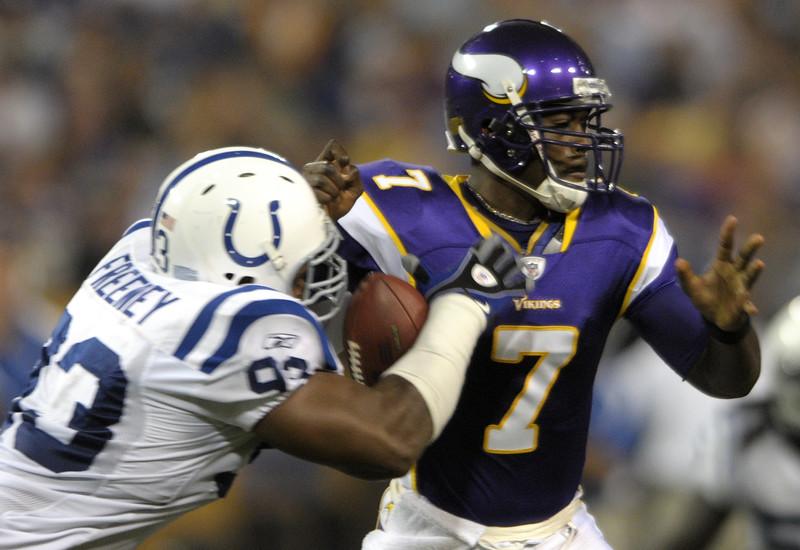 Colts Vikings Football