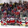 North Middlesex's celebrates it's win.  SENTINEL & ENTERPRISE/JOHN LOVE