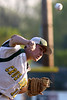 Bob Raines--Montgomery Media<br /> Lansdale Catholic starting pitcher Ryan Quigley pitches to North Penn May 8, 2015.