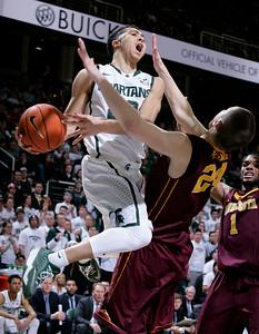 Minnesota Michigan St Basketball
