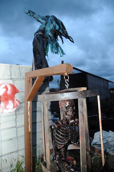 """Terror in the Corn Field"" at Novotny Farm Market on St. Rt. 60 in Vermilion on Oct. 2. STEVE MANHEIM/CHRONICLE"