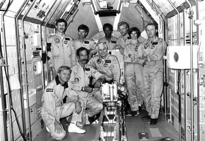 SPACE SHUTTLE CHALLENGER INTL