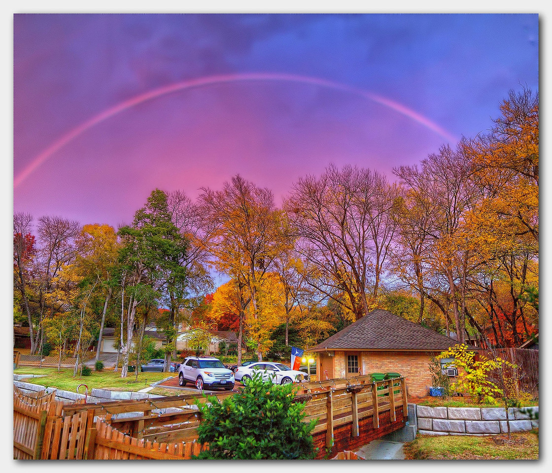 Thanksgiving Day Rainbow