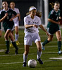 Dock's Nikki Clements dribbles up field with Delco Christian in pursuit.<br /> Bob Raines-Digital First Media