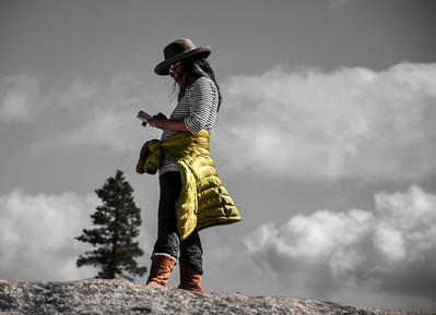 Mountaintop Texting