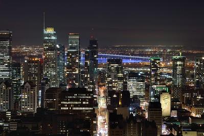 Montréal nocturne