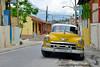 Belle américaine à Santiago de Cuba
