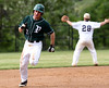 Bob Raines--Montgomery Media / Pennridge's Mitch McLeod gets ready to make the turn for home, scoring on Tommy Nuneviller's double.