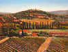 ***SOLD***Tuscan Villa-Cates, AEJR12, 30x40 canvas