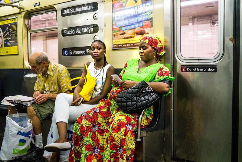 COLORFUL- NEW YORK CITY SUBWAY