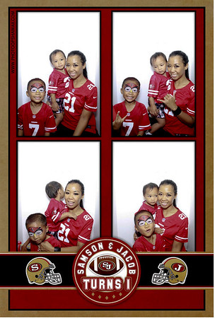 Samson & Jacob's 1st Birthday (Luxe Photo Booth)