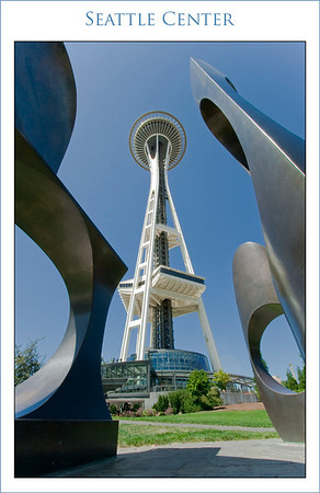 Space needle Art copy