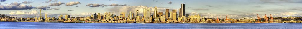 Seattle Skyline from West Seattle