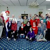 A Holiday lunch for seniors of Leominster was held by the Knights of Columbus on Wednesday. Members and volunteers at the K Of C that put the event together posed for a pictures at the event. SENTINEL & ENTERPRISE/JOHN LOVE