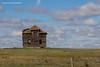 Old Alberta  Prairie Farm House